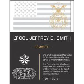 USAF Service Recognition Wording #2 (#308-2)
