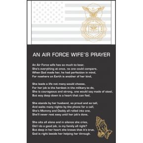 The Airman's Wife Prayer  (#304-3)