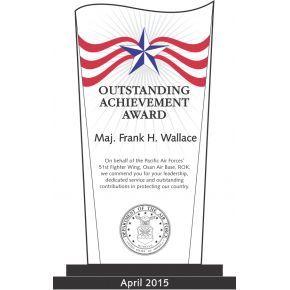 Air Force Outstanding Achievement Award (#314-1)
