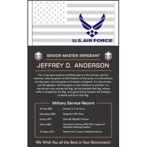 Sample USAF Retirement Poem (#316-1)