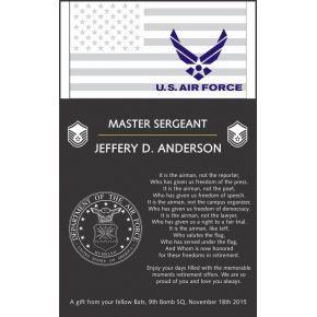 Sample USAF Retirement Poem (#316-2)