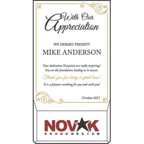 Boss's Day Appreciation Plaque (#454-1)