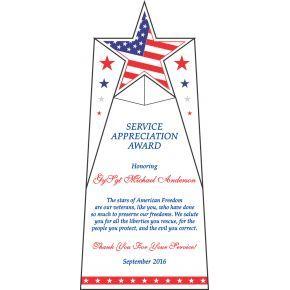 Sample Veteran Appreciation Poem (#335-1)