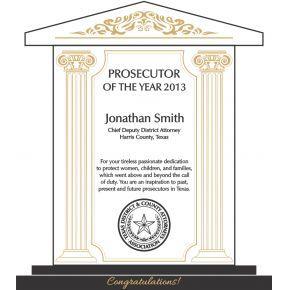 Outstanding Prosecutor Award (#511-1)