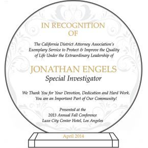 Sample Officer Recognition Plaque (#508-1)