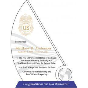 DEA Agent Retirement Gift (#512-1)