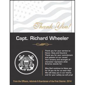 USCG Appreciation Plaque (#491-2)