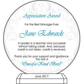 Boss Appreciation Message (#451-3)