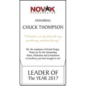 Leader of the Year Award (#454-3)