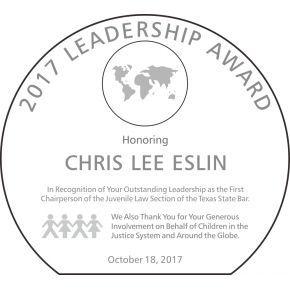 Globe Leadership Award Plaque (#029-1)