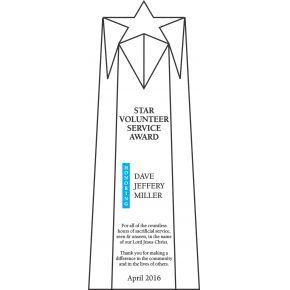 Star Volunteer Recognition Award (#069-1)