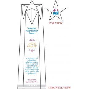 Star Volunteer Appreciation Award (#069-2)