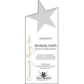 Community Rising Star Award (#067-1)