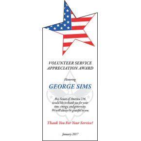 Volunteer Service Appreciation Gift (#067-3)