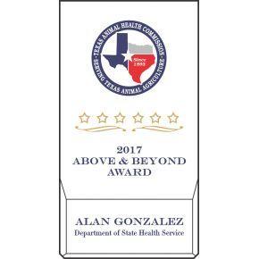 Above & Beyond Award (#060-1)