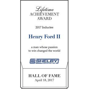 Hall of Fame Lifetime Achievement Award (#060-2)