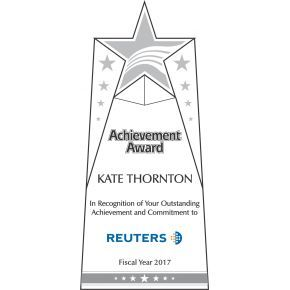 Star Achievement Award Plaque (#064-1)