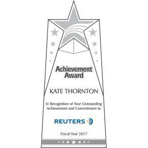 Star Achievement Award Plaque (#064-1)