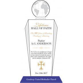 Lifetime Hall of Fame Award (#065-3)