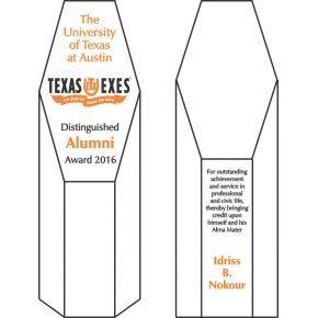 Award for Distinguished Alumni (#276-2)
