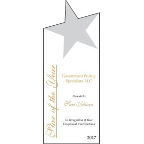 Star Employee of the Year Award (#245-2)