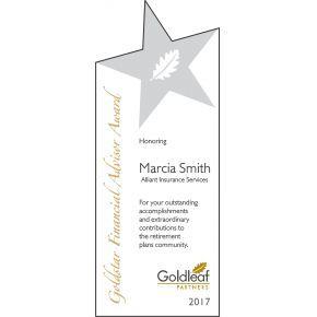 Financial Advisor Award (#245-4)
