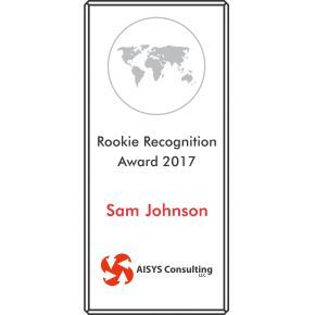 Rookie Recognition Award (#355-2)