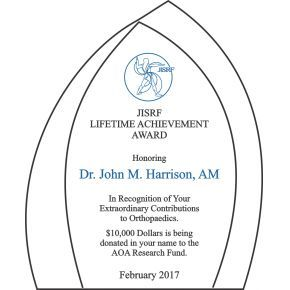 Extraordinary Lifetime Achievement Award (#018-4)