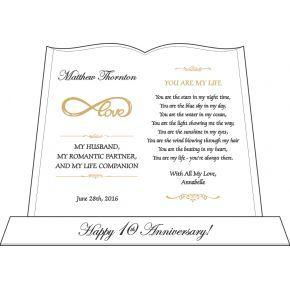 Infinite Love Wedding Anniversary Gift for Him (#144-3)