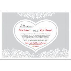 Valentine Anniversary Gift For Handsome Husband (#133-2)