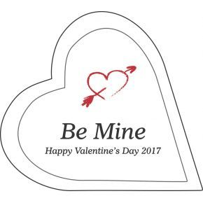 Be Mine Valentine Heart Gift (#507-1)