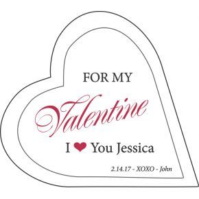 For My Valentine Crystal Gift (#503-3)