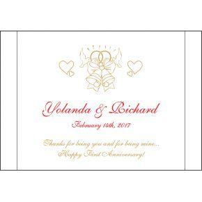 First Anniversary Valentine's Day Gift (#139-3)