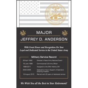 Army Retirement Service Award (#325-3)
